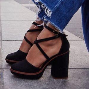 New FREE PEOPLE Remi Platform Heels